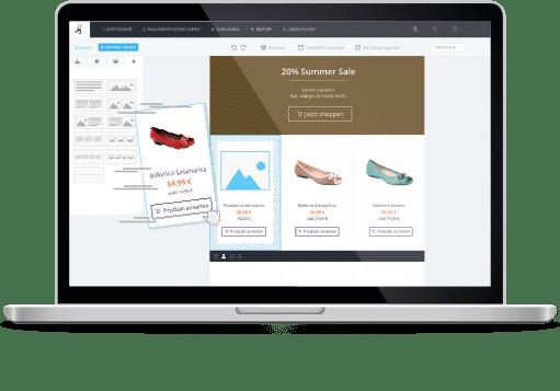 Crea Newsletter con piattaforma di Newsletter2Go