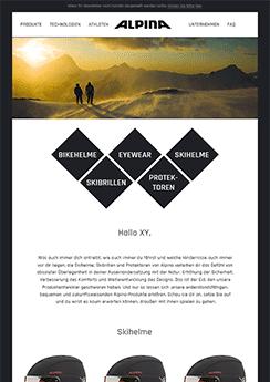 Template newsletter Newsletter2Go