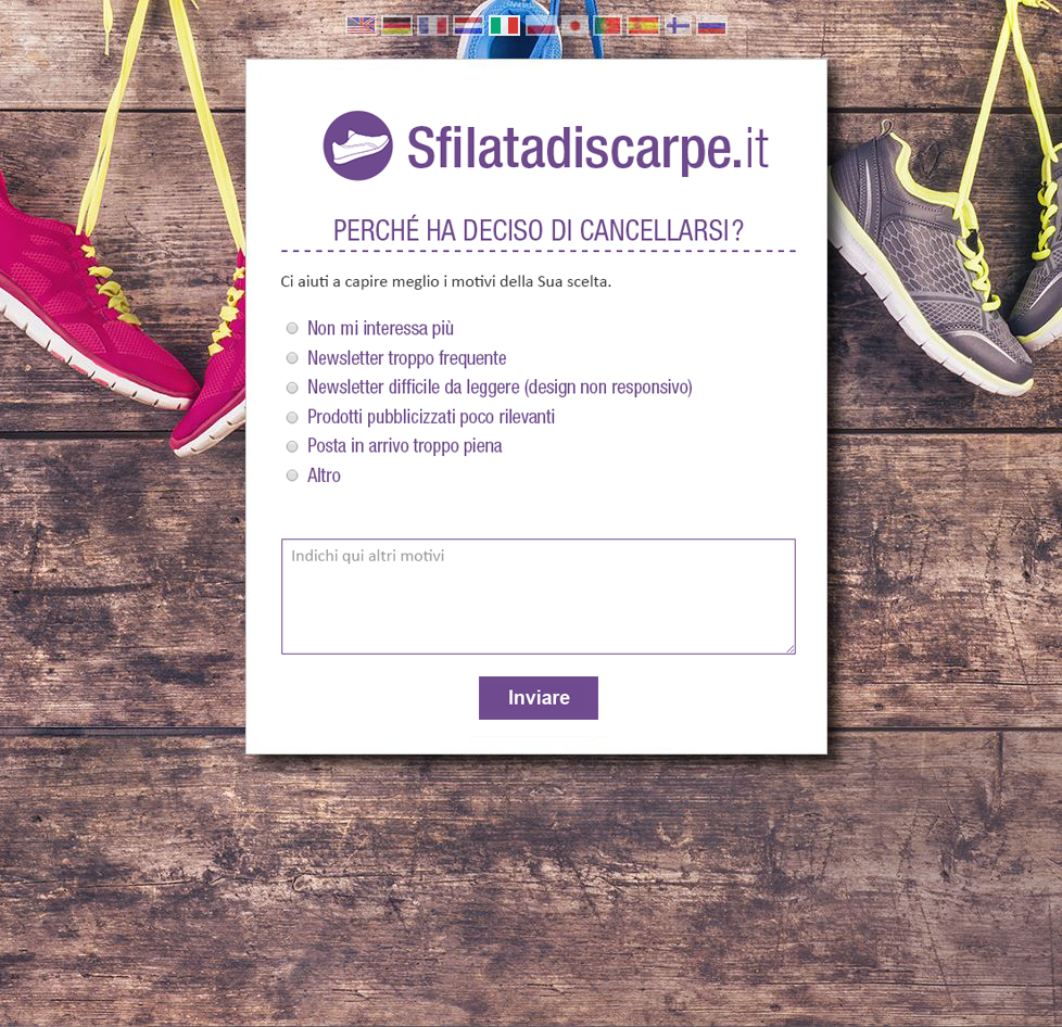 Landing page personalizzate