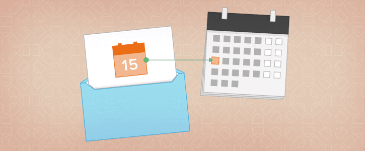 Inviare eventi calendario