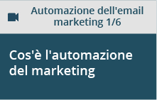 Cos'è l'automazione del marketing