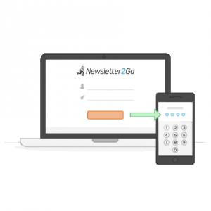 Autenticazione a due fattori Newsletter2Go