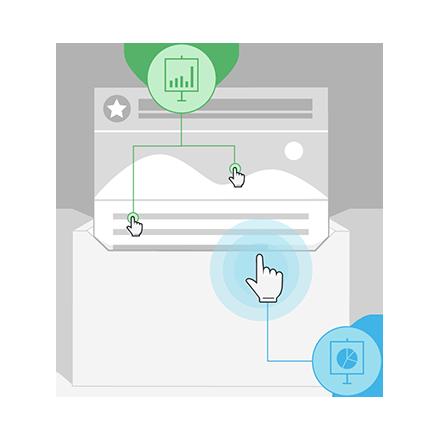 Monitoraggio tasso aperture e click