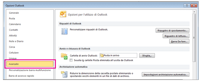 Esportare contatti Outlook 2010 Newsletter2Go
