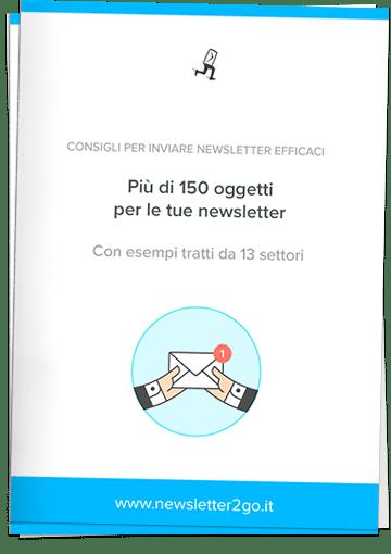 Whitepaper 150 oggetti newsletter - Newsletter2go