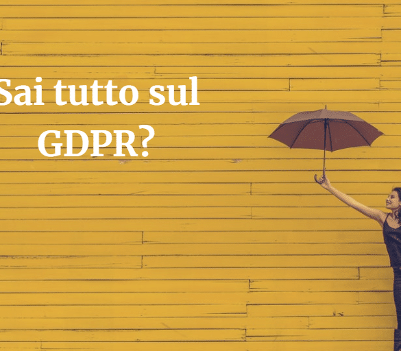Quiz sul GDPR Newsletter2Go