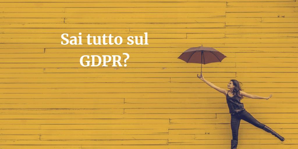Quiz sul GDPR Newsletter2Go