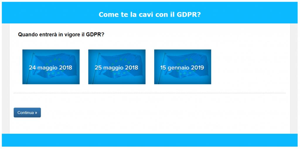 Quiz GDPR Newsletter2Go