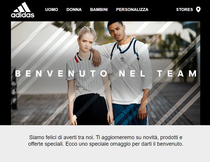 adidas_esempio Newsletter2Go